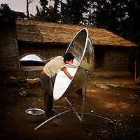 Nepal: Solar Cooking by Chris de Bode