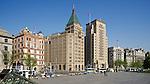 The Palace Hotel, Sassoon House & Cathay Hotel Building, Bank Of China, Yokohama Specie Bank, Yangtze Insurance And Jardine Matheson.