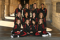 1 October 2007: Team photo top row (l to r): Sara Lowe, Erin Bell, Allison Coates and Gayle Lee. Second row: Poppy Carlig, Debbie Chen, Courtenay Stewart, and Taylor Durand. Bottom row: Michelle Moore, Corinne Smith, Christy Park, and Melissa Knight.