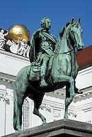 Josefsplatz mit Denkmal Joseph II Augustus, Wien, Österreich, UNESCO-Weltkulturerbe<br /> Jofef Square with monument Joseph II, Vienna, Austria, world heritage