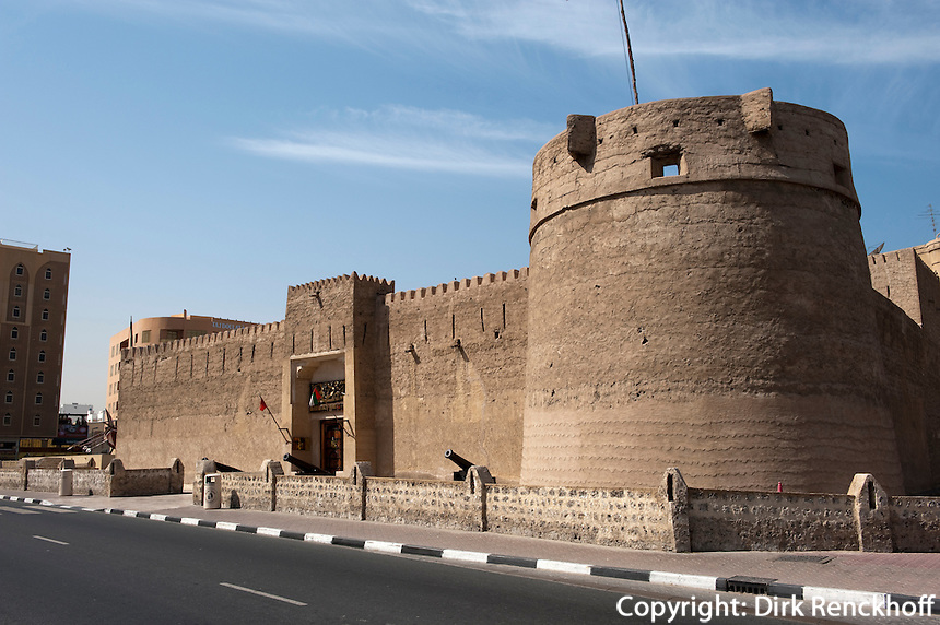 Vereinigte arabische Emirate (VAE), Dubai, Dubai  Museum im Fort Fahidi