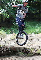 100106 Unicycling MTB Downhill