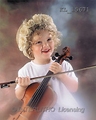 Interlitho, Alberto, CHILDREN, photos, girl, violin(KL15671,#K#) Kinder, niños