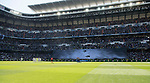 The Santiago Bernabeu Stadium is seen prior to the La Liga match between Real Madrid and Deportivo Alaves on 02 April 2017 in Madrid, Spain. Photo by Diego Gonzalez Souto / Power Sport Images