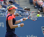 Ekaterina Makarova (RUS) loses to Li Na (CHN) 6-4, 7-6, 6-2 at the US Open being played at USTA Billie Jean King National Tennis Center in Flushing, NY on September 3, 2013