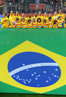 Opening Ceremony of team Brazil during the FIFA Women's World Cup at the FIFA Stadium in Wolfsburg, Germany on July 3rd, 2011.