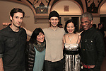 André De Shields, Bryce Pinkham, Santino Fontana at Encores! 1776 @ NY City Center 4/3/16