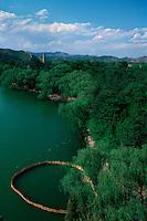 China, Chengde, Sommerpalast, Blick vom Goldhügel, Unesco-Weltkulturerbe