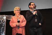 """MARIE SAUVION ET LOTFI BAHMED PRESENTENT LE COURT-METRAGE """"MI-TEMPS"""" - 20EME FESTIVAL INTERNATIONAL DU FILM DE COMEDIE DE L'ALPE D'HUEZ 2017"""