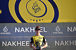 Dylan Groenewegen (Ned) Team Lotto NL-Jumbo wins Stage 1 The Nakheel Stage of the Dubai Tour 2018 the Dubai Tour's 5th edition, running 167km from Skydive Dubai to Palm Jumeirah, Dubai, United Arab Emirates. 6th February 2018.<br /> Picture: LaPresse/Fabio Ferrari | Cyclefile<br /> <br /> <br /> All photos usage must carry mandatory copyright credit (© Cyclefile | LaPresse/Massimo Paolone)