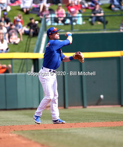 Nico Hoerner - Chicago Cubs 2020 spring training (Bill Mitchell)