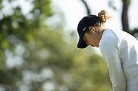 STANFORD, CA - APRIL 23: Malia Nam at Stanford Golf Course on April 23, 2021 in Stanford, California.