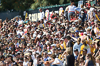FC Gold Fans. .FC Gold Pride defeated the Boston Breakers 2-1 at Buck Shaw Stadium in Santa Clara, California on April 5th, 2009.