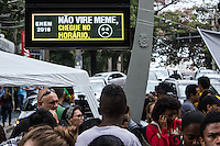SAO PAULO, SP, 05.11.2016 - ENEM-SP - <br /> Estudantes são vistos antes do inicio da realizacao do Exame Nacional do Ensino Medio, ENEM, na faculdade Uninove do bairro da Barra Funda, zona oeste de São Paulo. (Foto: Daia Oliver/Brazil Photo Press/Folhapress) SAO PAULO, SP, 05.11.2016 - ENEM-SP - <br /> Estudantes são vistos antes do inicio da realizacao do Exame Nacional do Ensino Medio, ENEM, na faculdade Uninove do bairro da Barra Funda, zona oeste de São Paulo. (Foto: Daia Oliver/Brazil Photo Press)