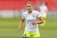 Chicago, IL - Sunday Sept. 04, 2016: Merritt Mathias prior to a regular season National Women's Soccer League (NWSL) match between the Chicago Red Stars and Seattle Reign FC at Toyota Park.