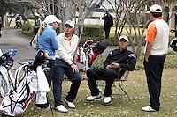 SAN ANTONIO, TX - FEBRUARY 16, 2009: THe University of Texas at San Antonio Oak Hills Classic Men's Golf Tournament at Oak HIlls Country Club. (Photo by Jeff Huehn)