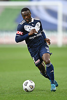 6th June 2021; AAMI Park, Melbourne, Victoria, Australia; A League Football, Melbourne Victory versus Melbourne City; Adama Traore of the Victory takes control of the ball