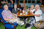 Enjoying the evening in Benners on Saturday, l to r: Frank Horgan, Nuala Shine, Angela Horgan and Ann O'Driscoll.