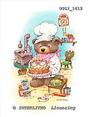 GIORDANO, CUTE ANIMALS, LUSTIGE TIERE, ANIMALITOS DIVERTIDOS, Teddies, paintings+++++,USGI1612,#AC# teddy bears