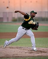 Jose Garcia / AZL Athletics..Photo by:  Bill Mitchell/Four Seam Images
