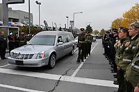 Funerailles d'une policiere de la Surete du Quebec, le 4 Octobre 2012,<br /> a Laval<br /> <br /> PHOTOS :  Agence Quebec Presse