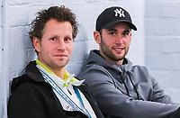 Rotterdam, Netherlands, 10 februari, 2018, Ahoy, Tennis, ABNAMROWTT, Supermatch dubbelen: Jasper Smit (NED) (L) and Jesse Timmermans (NED)<br /> Photo: Henk Koster/tennisimages.com