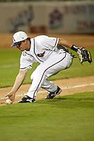 SAN ANTONIO, TX - FEBRUARY 22, 2008: The  Oral Roberts University Golden Eagles vs. The University of Texas at San Antonio Roadrunners Baseball at Nelson Wolff Stadium. (Photo by Jeff Huehn)