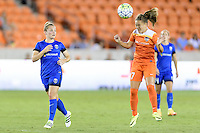 Houston, TX - Sunday Sept. 25, 2016: Kim Little, Andressa Machry during a regular season National Women's Soccer League (NWSL) match between the Houston Dash and the Seattle Reign FC at BBVA Compass Stadium.