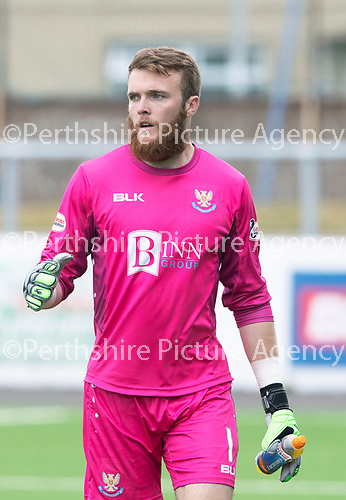 St Johnstone FC Season 2018-19<br />Zander Clark<br />Picture by Graeme Hart. <br />Copyright Perthshire Picture Agency<br />Tel: 01738 623350  Mobile: 07990 594431
