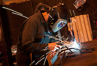 Welding at East Midlands Fabrications in Nottingham