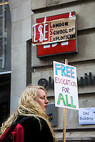 """25.03.2015 - """"March to Stop the Cuts at UAL: Free Education For All"""""""
