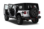 Car images close up view of a 2018 Jeep Wrangler-Unlimited Rubicon 5 Door SUV doors