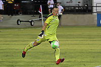 Jillian Loyden (1) of the Chicago Red Stars.  The Atlanta beat defeated the Chicago Red Stars during a Women's Professional Soccer (WPS) match at KSU Atlanta Beat Stadium Kennesaw, GA, on July 21, 2010.
