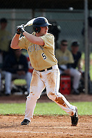 February 27, 2010:  Shortstop Jedd Gyorko (5) of West Virginia Mountaineers during the Big East/Big 10 Challenge at Raymond Naimoli Complex in St. Petersburg, FL.  Photo By Mike Janes/Four Seam Images