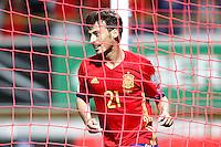 Spain's David Silva celebrates goal during FIFA World Cup 2018 Qualifying Round match. September 5,2016.(ALTERPHOTOS/Acero) /NORTEPHOTO