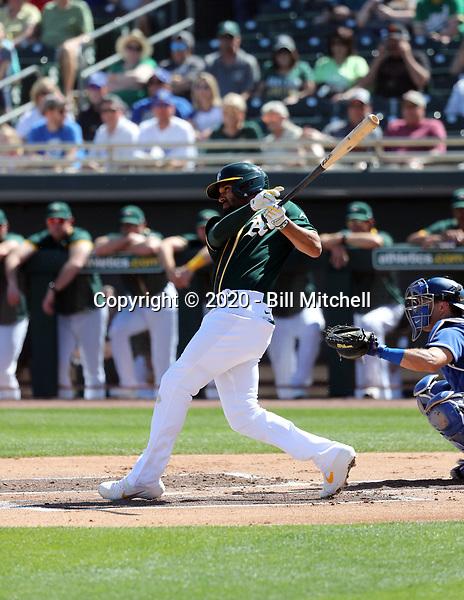 Marcus Siemen - Oakland Athletics 2020 spring training (Bill Mitchell)