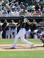 Marcus Siemen - Oakland Athletics 2020 spring training (Bill Mitchell)