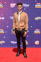 LOS ANGELES - APR 29:  Max Ehrich at the 2016 Radio Disney Music Awards at the Microsoft Theater on April 29, 2016 in Los Angeles, CA