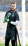St Johnstone Training….09.08.18<br />Goalkeeper Zander Clark pictured during training at McDiarmid Park ahead of Sunday's game against Hibs<br />Picture by Graeme Hart.<br />Copyright Perthshire Picture Agency<br />Tel: 01738 623350  Mobile: 07990 594431