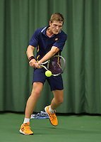 Rotterdam, The Netherlands, March 19, 2016,  TV Victoria, NOJK 14/18 years, Bart Stevens (NED)<br /> Photo: Tennisimages/Henk Koster