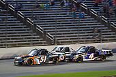 #51: Spencer Davis, Kyle Busch Motorsports, Toyota Tundra JBL/SiriusXM, #4: Todd Gilliland, Kyle Busch Motorsports, Toyota Tundra Mobil 1
