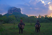 First light at the famous archaeological site Sigiriya, this place is a unique witness to the civilization of Ceylon during the years of the reign of Kassapa I. <br />