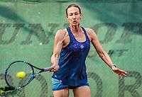 Hilversum, The Netherlands,  August 20, 2021,  Tulip Tennis Center, NKS, National Senior Tennis Championships, Women's doubles 50 + :  Carole de Bruin (NED)<br /> Photo: Tennisimages/Henk Koster