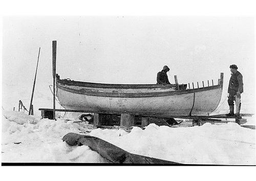 Modifications that Harry McNish made to the James Caird lifeboat enabled it to weather the epic 800-mile voyage from Elephant Island to South Georgia