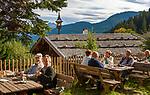 Oesterreich, Salzburger Land, Pinzgau, Dienten: Jausenstation Gruenegg | Austria, Salzburger Land, Dienten: mountain Inn 'Gruenegg'