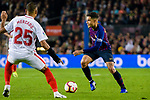 Philippe Coutinho of FC Barcelona in action during the La Liga 2018-19 match between FC Barcelona and Sevilla FC at Camp Nou Stadium on October 20 2018 in Barcelona, Spain. Photo by Vicens Gimenez / Power Sport Images
