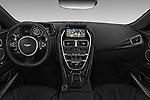 Stock photo of straight dashboard view of 2018 Aston Martin DB11 - 2 Door Coupe Dashboard