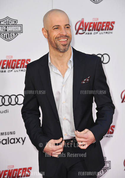 """Chris Daughtry at the world premiere of """"Avengers: Age of Ultron"""" at the Dolby Theatre, Hollywood.<br /> April 13, 2015  Los Angeles, CA<br /> Picture: Paul Smith / Featureflash"""