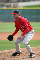 Daniel Davidson  - Los Angeles Angels 2009 spring training.Photo by:  Bill Mitchell/Four Seam Images