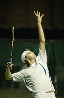 19-2-06, Netherlands, tennis, Rotterdam, ABNAMROWTT, Qualifying round, Gilles Simon places himself in the main draw by defeating Calatrava